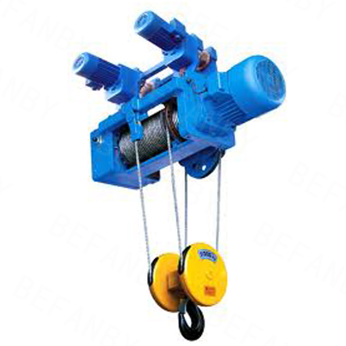 20t Low Clearance Crane Hoist for Building Material Lifting