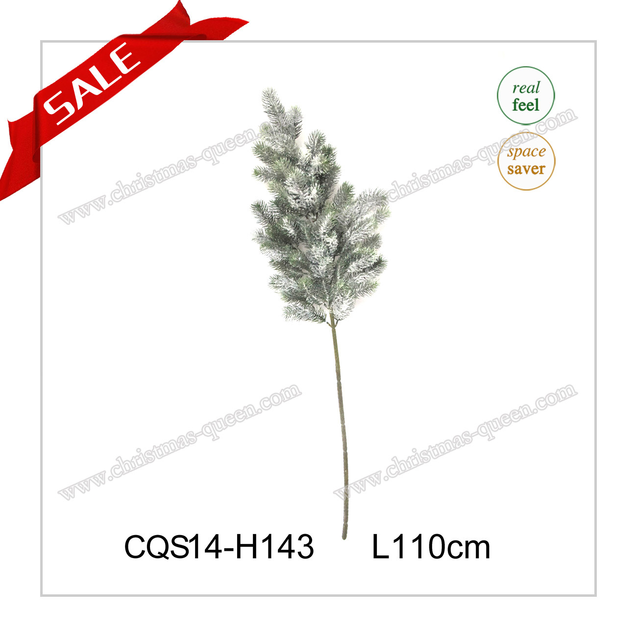 Top Quality Snowing Christmas Outdoor Decoration Plastic Products Home H35-H110cm