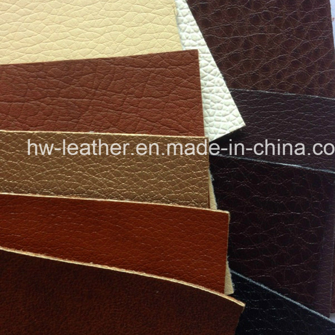Bonded Leather for Sofa, Furniture, Car Seat Hw-140934