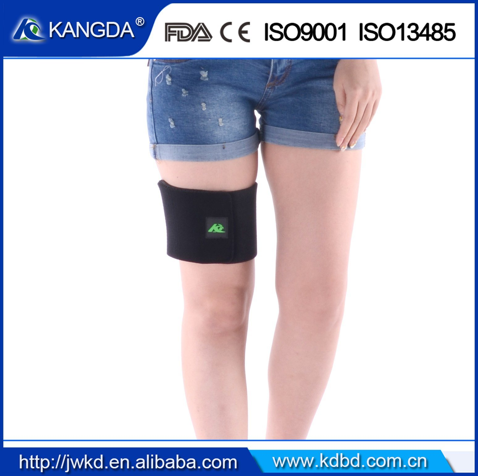 High Elastic Knee Brace Velcro Knee Padding Support