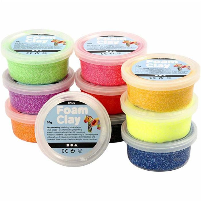 Supply Polymer Clay/Air Dry Clay, Foam Clay