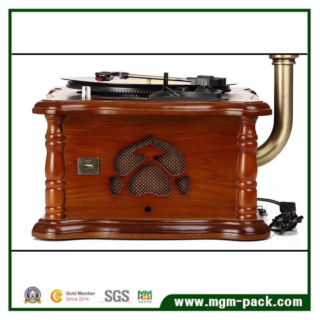 Classical Decorative Gramophone with CD Player