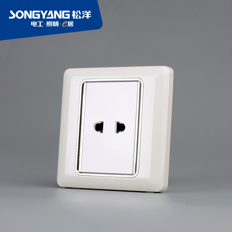 Flame Retardant PC Plastic Series 1 Socket