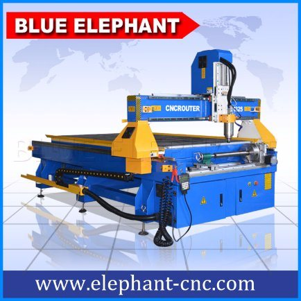 Ele1325 Woodworking Machine CNC Router with Rotary Device Machinery From China