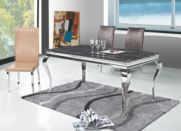 China Marble Top Dining Table Design DTM 740 China  : Marble Top Dining Table Design DTM 740  from ideatime.en.made-in-china.com size 761 x 549 jpeg 188kB