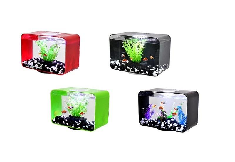 ... Lighting Mini Aquarium (MF-0450) - China Mini Aquarium, Small Aquarium