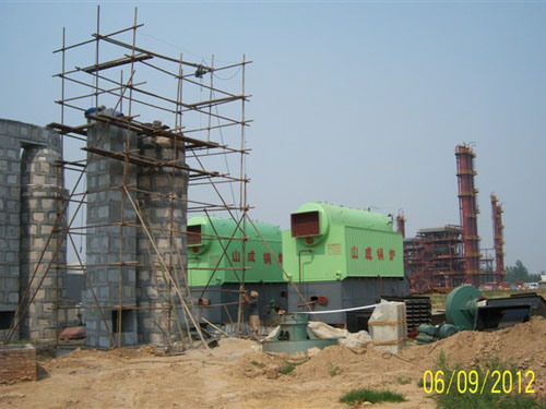 Big Thermal Efficiency Steam Generator