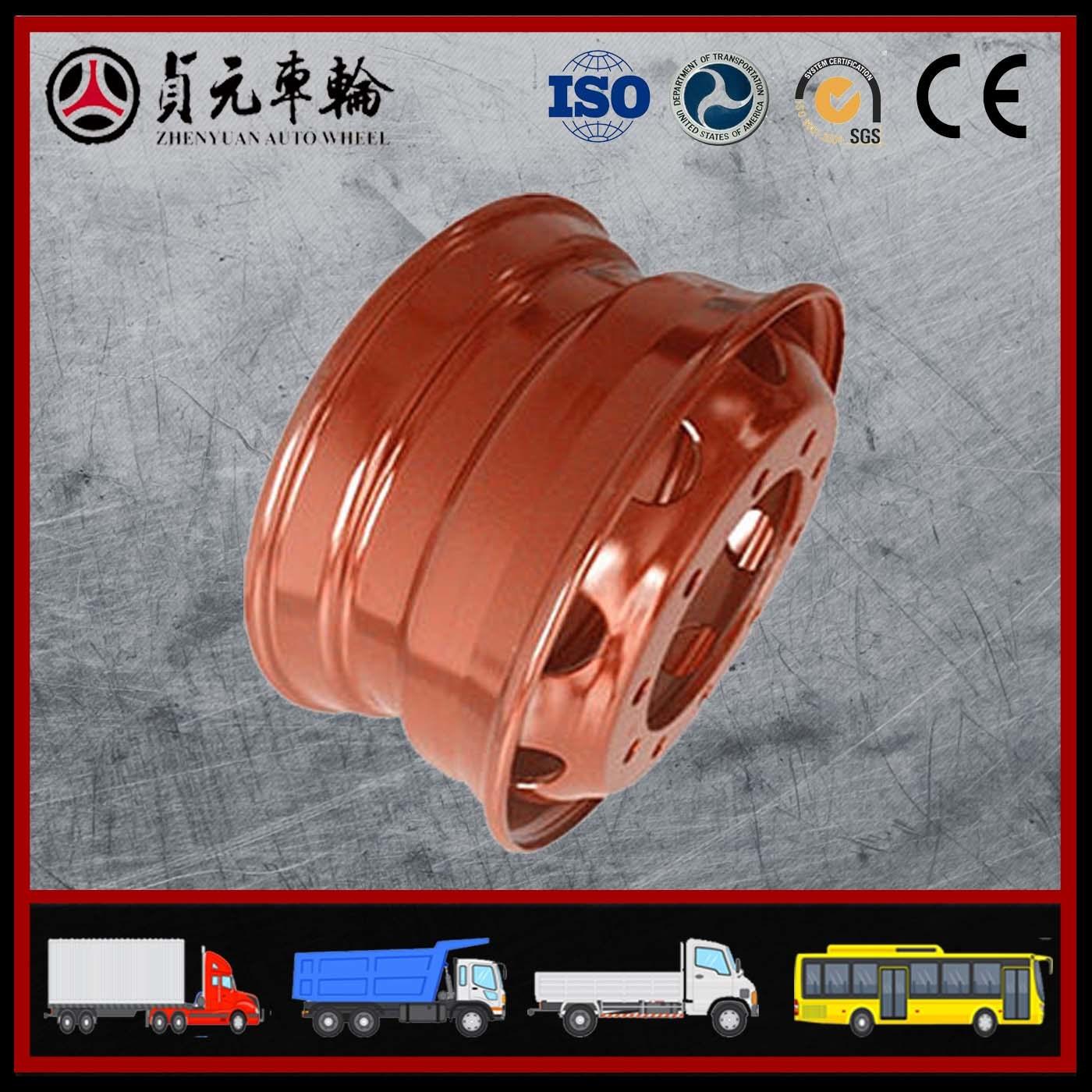 Truck Wheel and Steel Wheel Shandong Zhenyuan Wheel (24.5*8.25)