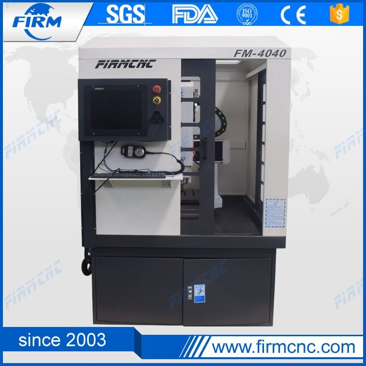 Mini Small FM4040 China CNC Moulding Machine for Metal