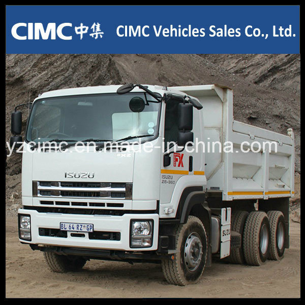New Isuzu 10wheeler 400HP Heavy Dump Truck with 25 Ton