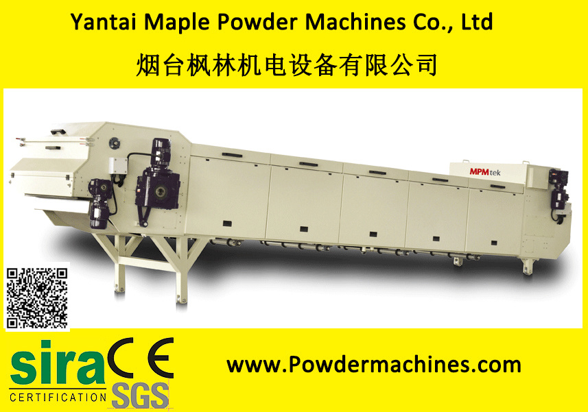 Mess Production Stainless Steel Powder Coating Cooling Crusher Belt/Band