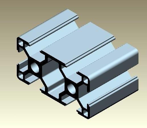 Aluminium Frame Extrusion Aluminium Profile Production