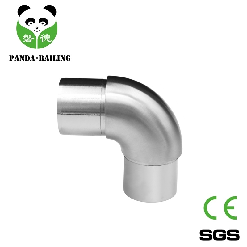 Stainless Steel Handrail Fitting Elbow