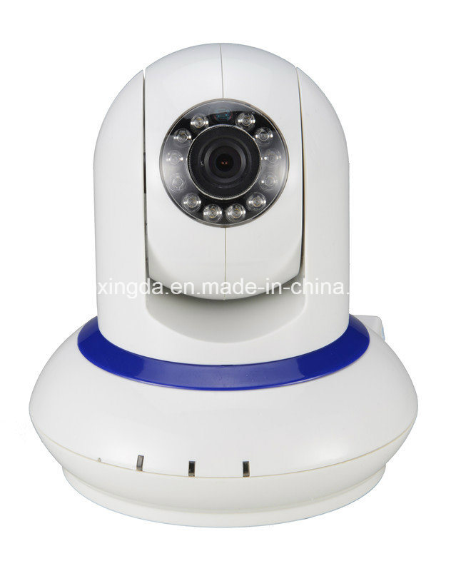 New P2p Wireless WiFi Network Camera with PTZ Onvif Audio Features