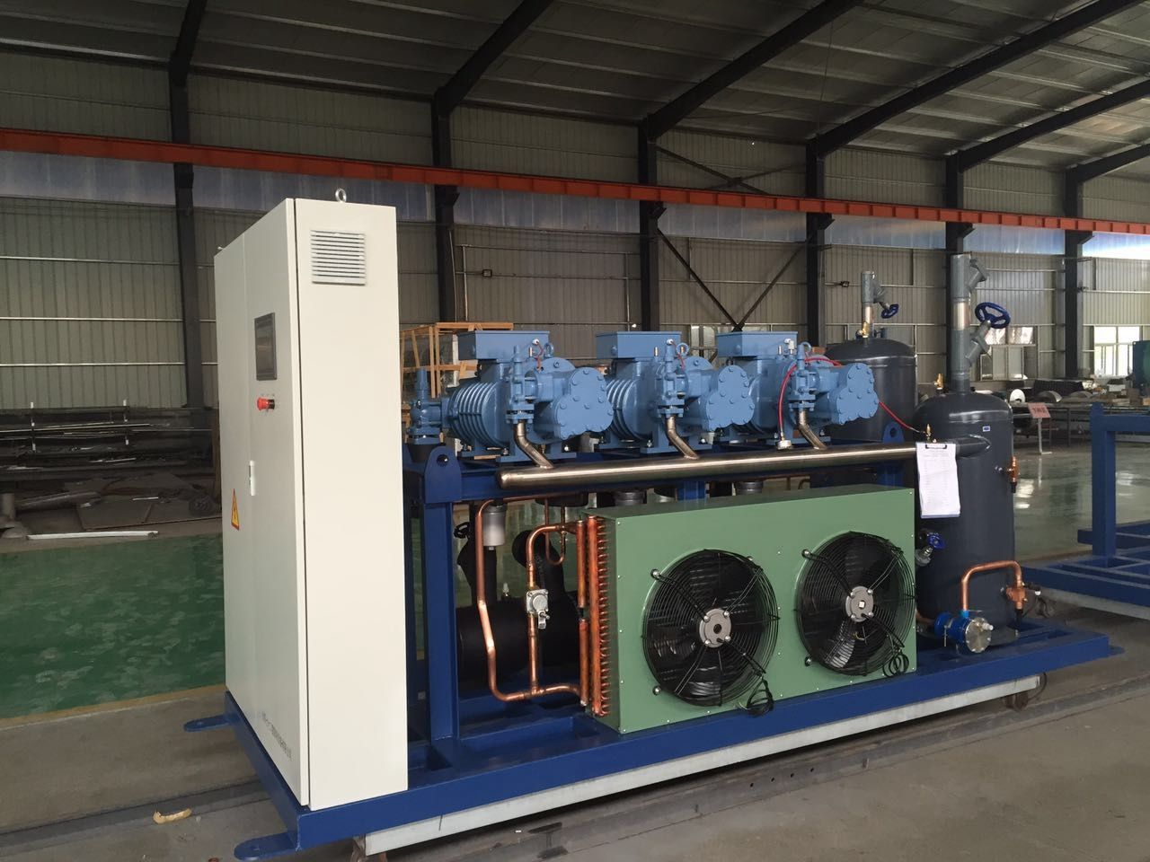 Refcomp High Temperature Screw Parallel Unit Refrigeration Compressor