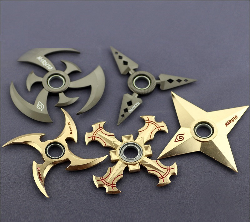 New Cartoon Naruto Style Hand Spinner