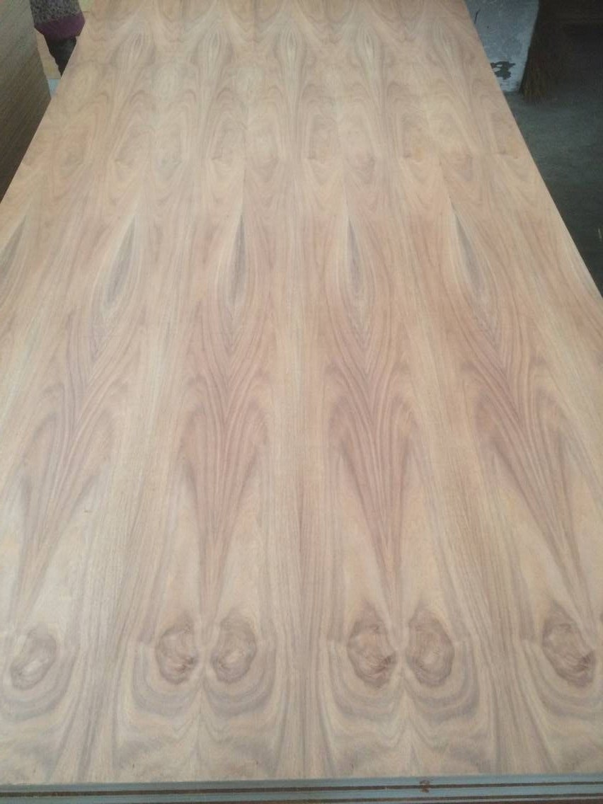 China Factory 12mm 15mm Natual Caribbean Walnut / Tzalam Fancy MDF To Mexico  Market   China MDF, Melamine MDF