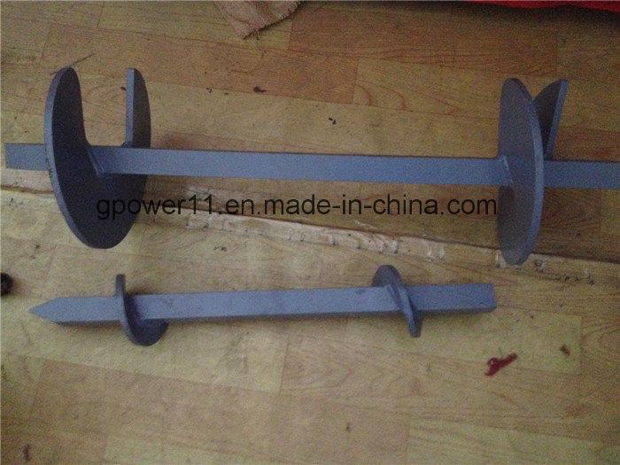 Welding Power Coating Helix Screw Shaft