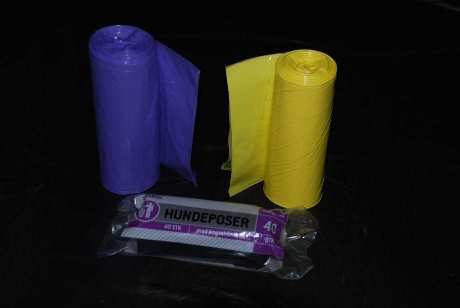 HDPE Plastic Star Seal Trash Bag on Roll