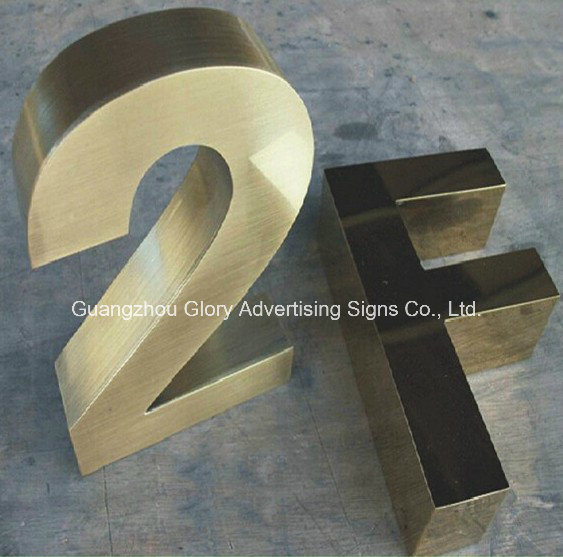 Number Sign with LED Light up Letter Sign