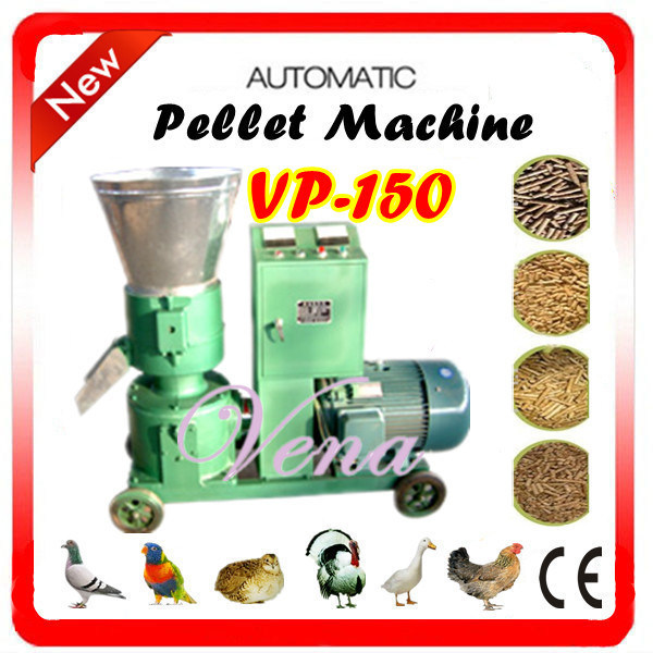 Fully Automatic Poultry Feed Pellet Machine Vp-200