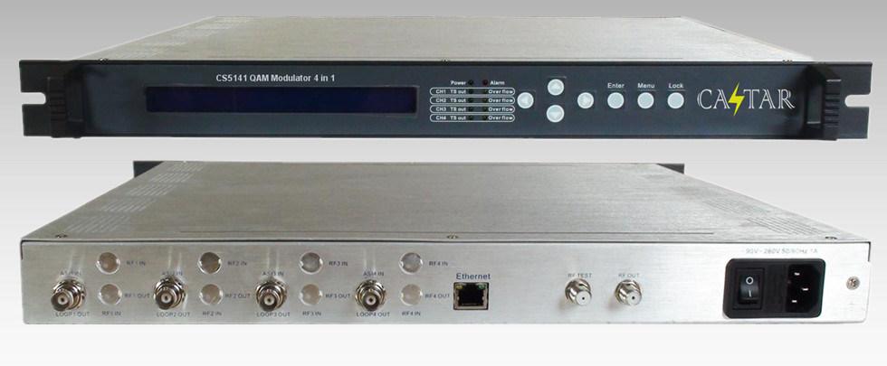 Digital TV Qam Modulator Qpsk Modulator DVB-T Modulator DVB-S2