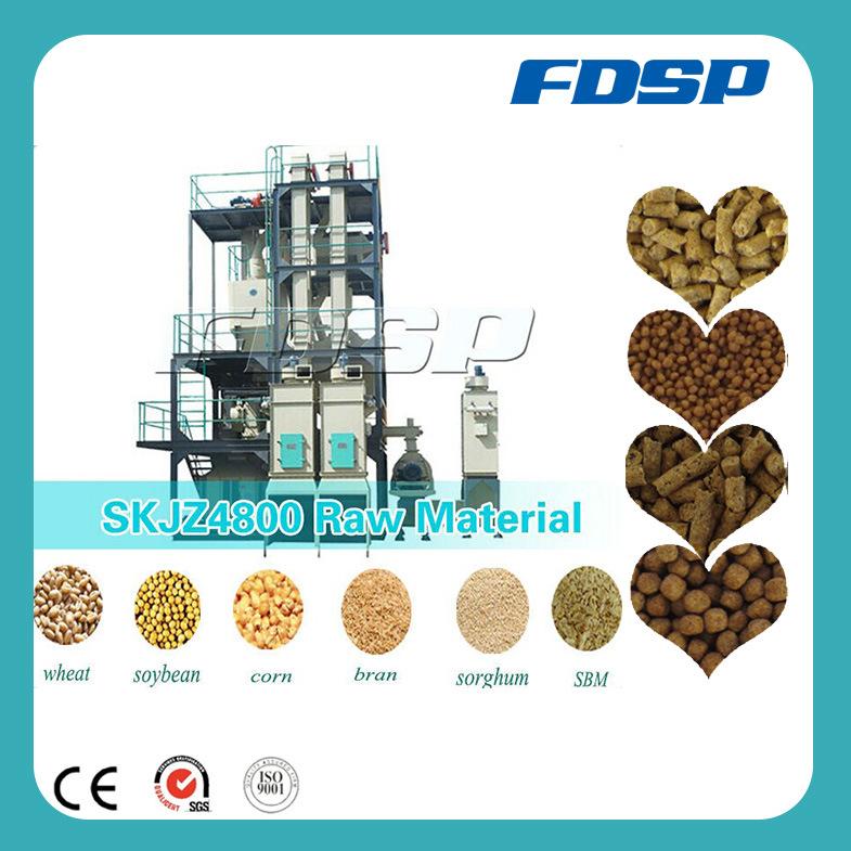 SKJZ 4800 Animal Pellet Feed Plant, Animal Feed Processing Plant