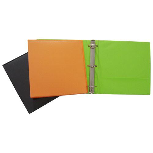 3 Ring Plastic File Folder (B3904)