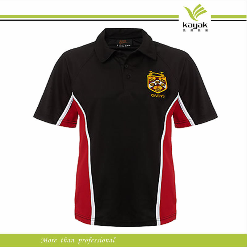 China high quality black solid color brand polo t shirts for Expensive polo shirt brands