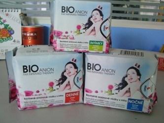 Bio Anion Sanitary Napkins OEM China Manufacturer