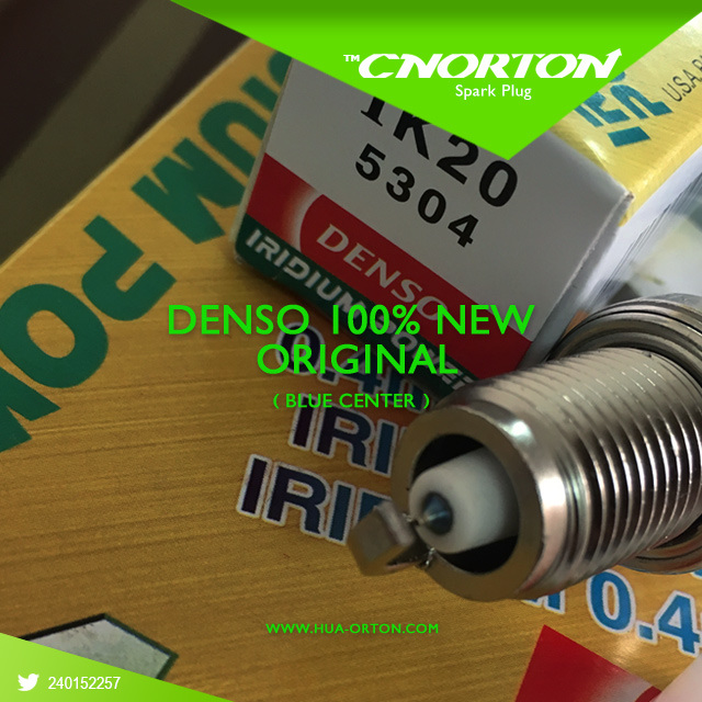 100% Original Blue Ik20 Spark Plug for Denso Toyota/Nissan/Mitsubishi