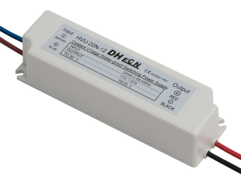 Single Output Waterproof Power Supply (HVU-20N)
