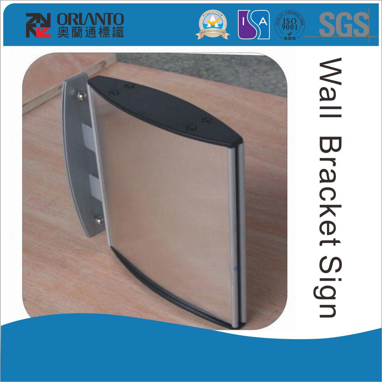 Aluminium Curved Wall Bracket Sign