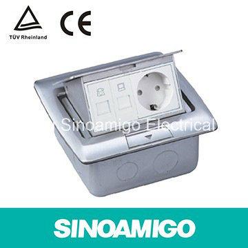 Business Building Wiring System Floor Socket Table Socket Desktop Socket USB Socket Internet Connection Plug