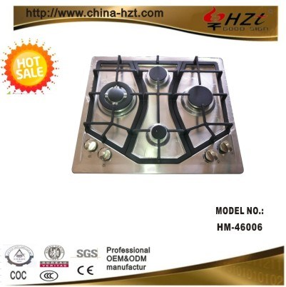 Best Selling Stainless Steel 4 Burner Gas Stove
