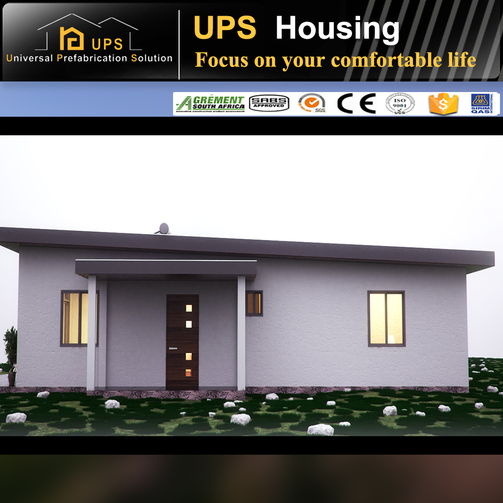 Affordable Pre Made House Prefabricated Villas with High Quality Decorations
