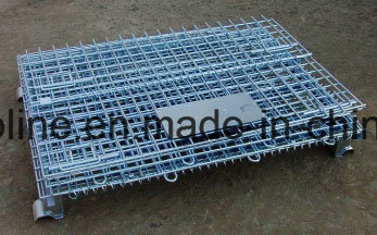 Roll Metal Steel Wire Basket/Storgae Cage