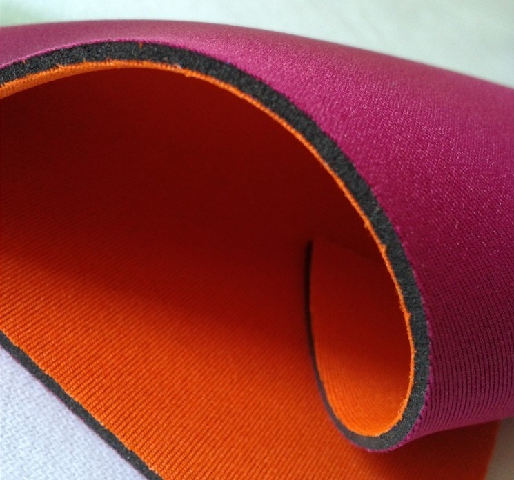 Neoprene Two Sides Laminated with Polyster Fabric