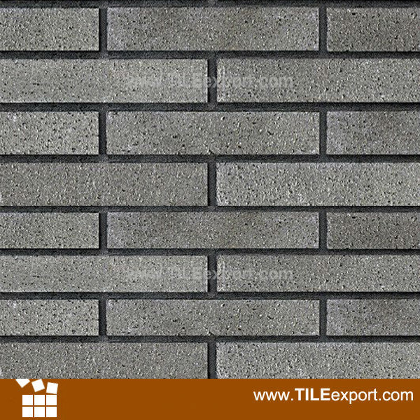 China Grey Clay Brick Exterior Wall Tile (WF992) Photos & Pictures ...