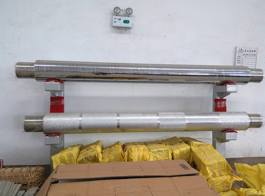 Main Roller Engraved for Pattern Glass