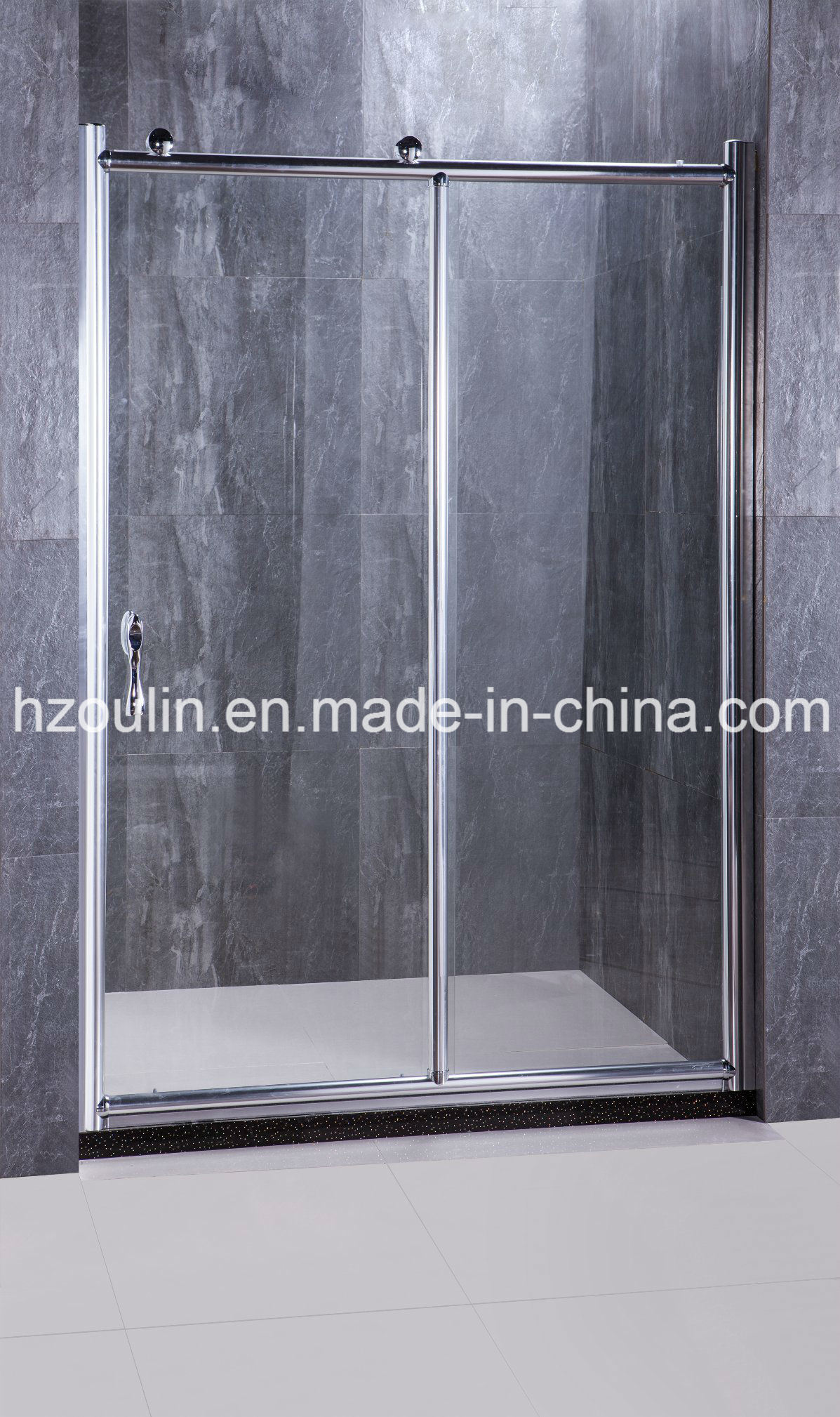 Big Roller Glass Shower Door