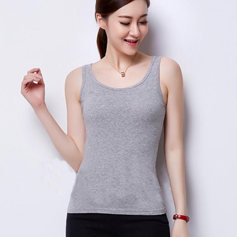 Wholesale Women Plain Cheap Sport Vest