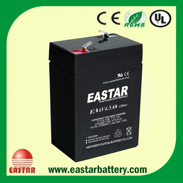 6V 4.5ah VRLA Battery (EA6-4.5)