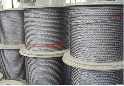 Ungalvanized and Galvanized Steel Cable with Dry Type