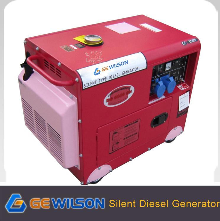 Portable Quiet Diesel Generator