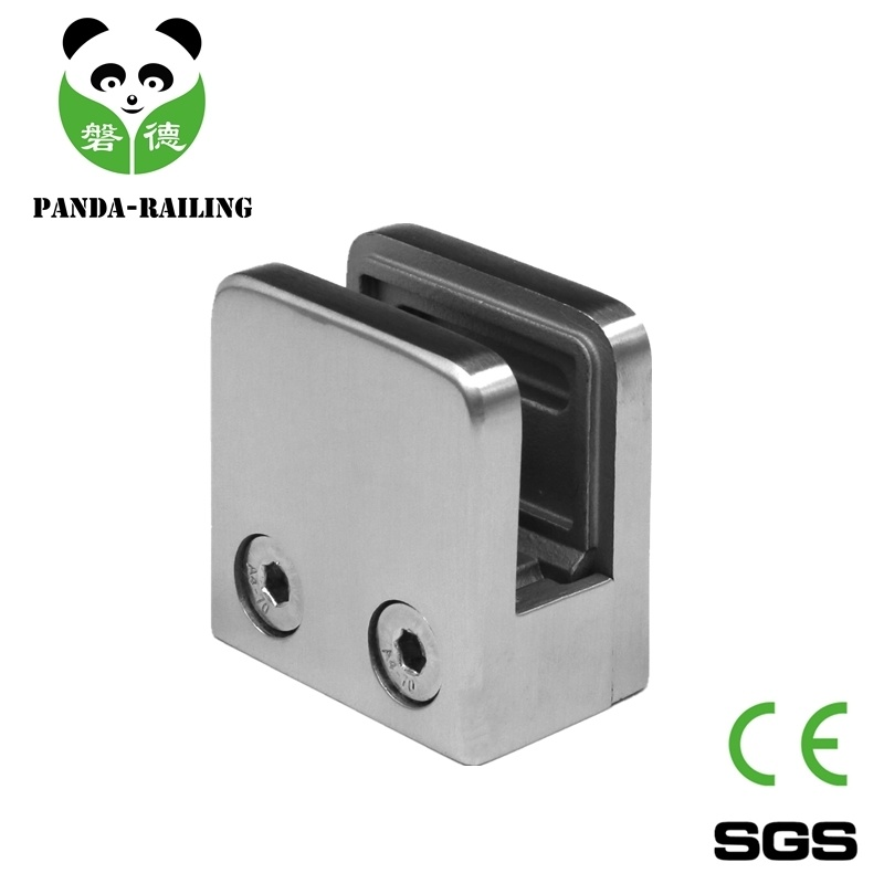 Stainless Steel Glass Railing Fitting Glass Clamp