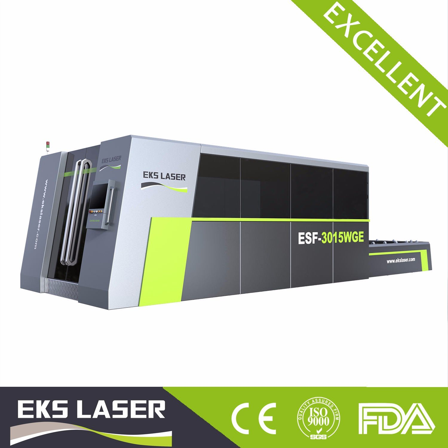 The Fiber Laser Machine Have Exchange Platform