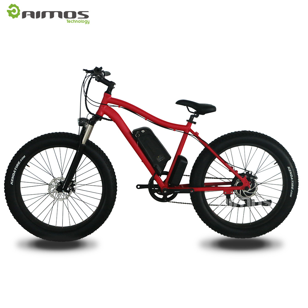 Supply Kinds of Good Quality 26inch Fat Tire Ebikes