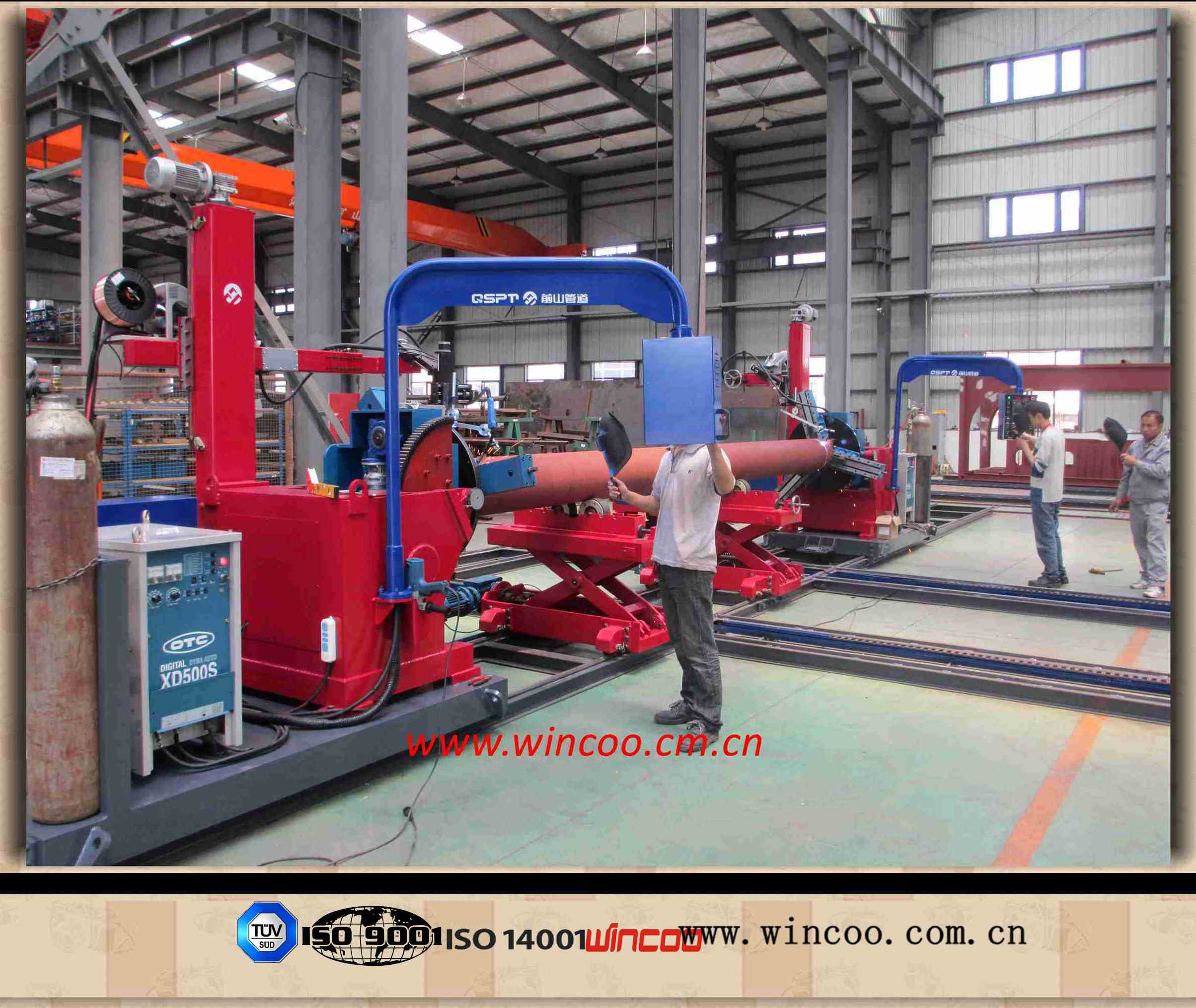 Heavy-Duty Cantilever Type Automatic Pipe Welding Machine/Pipe Spool Fabrication System