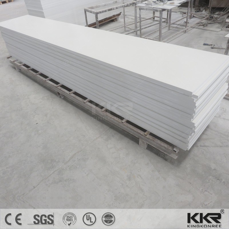 Kkr Corian Solid Surface Artificial Stone for Building Material